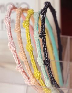 Candy Color Beads Decorated Hair Clasp_Headwear_Accessories_Digbabies
