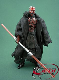 Star Wars Action Figure Darth Maul (Shadow Hunter), Star Wars The Legacy Collection