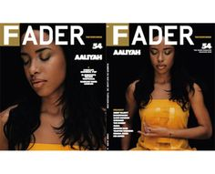 The FADER Magazine Issue #54, The Icon Issue, May/June 2008, Featuring Aaliyah, Lykke Li, Bassline, El Guincho, Jeremy Jay, Chip tha Ripper, Sahra Motalebi, Fleet Foxes, Free Blood, Shy Child, The War