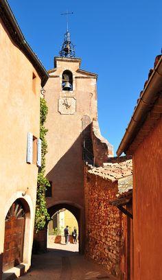Roussillon in the Luberon