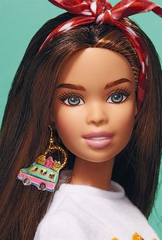Doll by Stella Jean for Milan Barbie exhibition