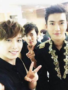 Sungmin x Donghae x Siwon = cutie boys! #Donghae #Sungmin #Siwon #SuperJunior
