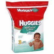 Huggies Natural Care Baby Wipes, Fragrance Free, 216 ct. by Huggies. $8.92. 7.7 x 6.7 in. Hypoallergenic. Aloe & E. Alcohol free. Made in the US.