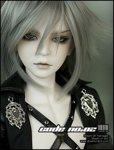 My very first BJD. From the DOD website. He was lovingly named Asime, and looks beautiful with purple and blue eyes.