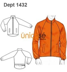 CHAQUETA RAGLAN  IMPERMEABLE HOMBRE Flat Sketches, Mode Masculine, Drawing Clothes, Fashion Flats, Kids Wear, Designs To Draw, Mj, Sewing Patterns, Mens Fashion
