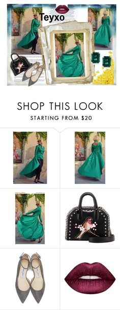 """Teyxo-1"" by nihada-niky ❤ liked on Polyvore featuring STELLA McCARTNEY, Jimmy Choo, Lime Crime, CARAT* London and Teyxo"