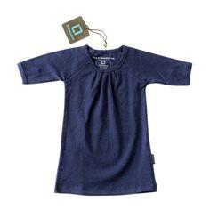 Baby jurk - denim blue | Little Label babykleding en kinderkleding