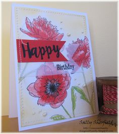 """Flower Garden by Tim Holtz 