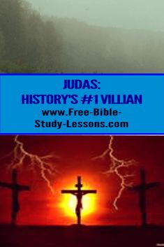 Judas was just an ordinary man looking out for number one and not caring too much how he did it. Greed moved him from theft to betrayal. Bible Study Lessons, Free Bible Study, Bible Commentary, Greatest Villains, Caring Too Much, Son Of God, S Word, Greed