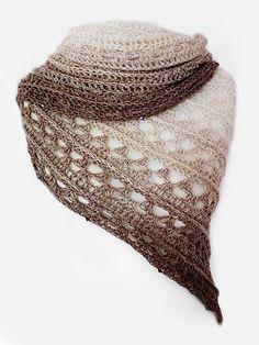 Amorous means beeing in love. Fingerling weight yarn. Free crochet scarf pattern!