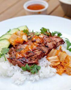 grilled bulgogi steak