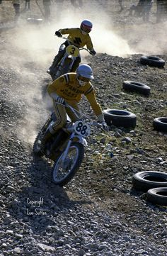 Vintage Motocross by Lee Sutton, via Flickr