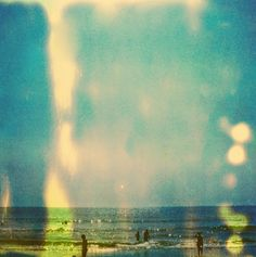 sunspots, beautiful vacation photos with expired film