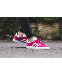 0abd953faac6 Adidas Gazelle Pink Shock Pink Core Black Trainer Pink series in the more  popular series