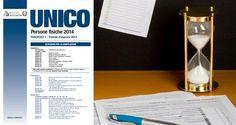 Unico 2014: proroga scadenze al 7 luglio per chi è soggetto agli studi di settore