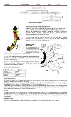Regiones naturales de Colombia 3° Natural, Maps, Socialism, Coconut Rice, White Rice, Barranquilla, Colombia Map, Nature, Au Natural