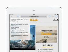 Hurtigt tilbage til en webside - Tips og tricks til iOS 8 til iPad – Apple-support