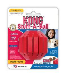 KONG Stuff a Ball Dog Toy