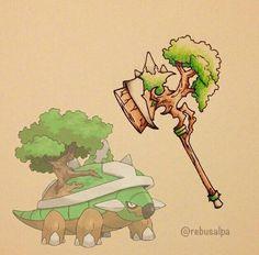 Torterra weapon