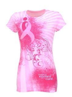Pretty Komen shirt!