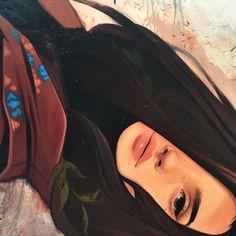 By Kelsey Beckett Kelsey Beckett, Art Sketches, Art Drawings, Mode Poster, Digital Portrait, Grafik Design, Anime Art Girl, Cute Illustration, Aesthetic Art