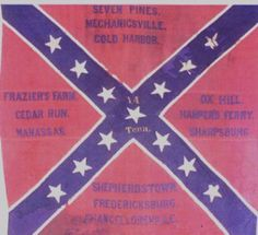 Battle Flag of the 14th Tennessee Infantry