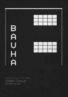 Walter Gropius - Bauhaus School and Faculty, Dessau ©️ by Andrea Gallo Walter Gropius, Art Bauhaus, Bauhaus Design, Bauhaus Style, Bts Design Graphique, Art Graphique, Frank Lloyd Wright, Johannes Itten, Minimalist Poster Design
