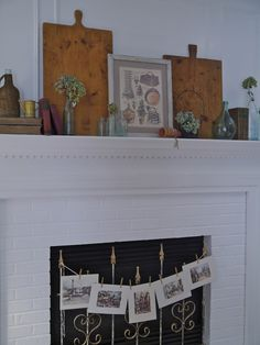 Chateau Chic - Fall French Mantel