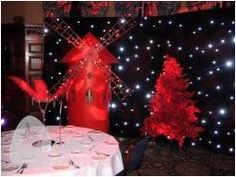 As most of our parties are done during the Christmas period putting a a tree in this starry backdrop scene really works well