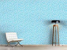 Design #Tapete Emilles Fleurs En Hiver Cottage, Design, Winter, Flowers, Self Adhesive Wallpaper, Wall Papers, Nice Asses, Cottages, Cabin