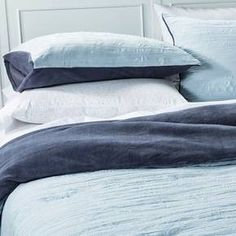Bedding Set Reversible Textured Blue - Room Essentials™ : Target (ACTUALLY MIGHT WANT THIS)
