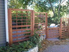 Custom Grove Landscaping, Inc. - fence idea