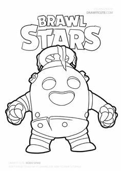 Brawl Stars Archives - Color for fun Shark Coloring Pages, Coloring Pages For Boys, Free Printable Coloring Pages, Free Coloring Pages, Coloring Books, Coloring Sheets, Creative Thinking Skills, Creative Skills, Star Art