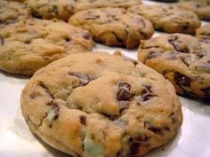 Andes Mint Cookies. I plan to add green food coloring for St. Patricks Day. :)