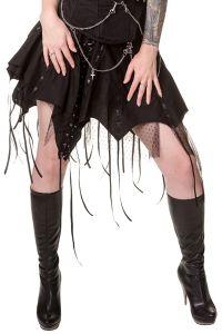 Dead Threads - Gothic Rock mit Schnürungen, Ketten und Spitze