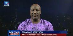 Economic recession: Dino Melaye says Minister of Finance Kemi Adeosun is incompetent