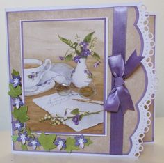 For this card I have used an image from the Jane Shasky cd by Joanna Sheen. I Card, Barn, Tea, Frame, Pond, Bucket, Inspiration, Picture Frame, Biblical Inspiration