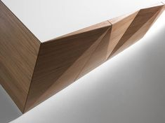 Walnut Sideboard NOT RIDDLED Riddled Collection By HORM.IT | Design Steven  Holl