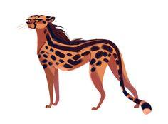 433: King Cheetah It's International Cheetah Day and I ❤ cheetahs. So here is a king cheetah sporting a fabulous mane.
