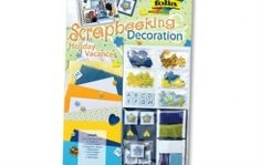 Holiday Themed Scrapbooking and Decoration Set Scrapbooking Supply Decorative Paper Embossed Shapes by ScrapbookingSupply on Artsy Central