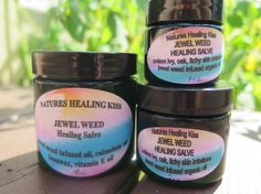 JEWEL WEED SALVE and Soap Bar  wildcrafted by NaturesHealingKiss