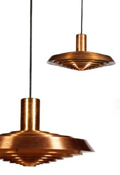 Poul Henningsen Interior Lighting, Home Lighting, Modern Lighting, Lighting Design, Pendant Chandelier, Pendant Lighting, Mystery Of Light, Copper Interior, Creative Lamps