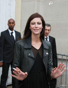 Anna Mouglalis en octobre 2011 à Paris
