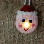 Lighted Mrs. Clause Ornament – Free Pattern