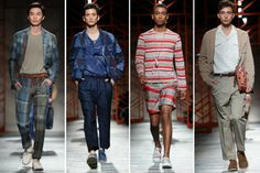 Italian luxury brand Missoni brought its menswear & womenswear Spring Summer 2014 collections to Tokyo to open the Japan Fashion Week SS14 season.