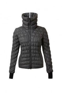 Cesena Down Jacket | Black | Front
