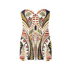 BALMAIN ❤ liked on Polyvore featuring dresses, tops, vestidos and balmain