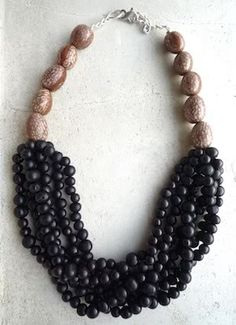 The beads are hand dyed and polished Acai seeds from Amazonian rainforests. No two beads are the same, each one has a different size and sha...