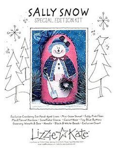Sally Snow Kit from Lizzie Kate Counted Cross Stitch Designs Counted Cross Stitch Patterns, Cross Stitch Designs, Lizzie Kate, Christmas Cross, Snowmen, Sally, Keys, Needlework, Wreaths