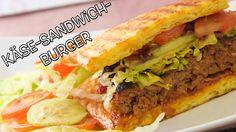 Käse Sandwich Burger Dings Low Carb